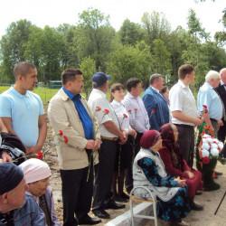Пресс-релиз  мероприятия по открытию памятника в деревне  Тюлько – Тамак Иглинского  района РБ.