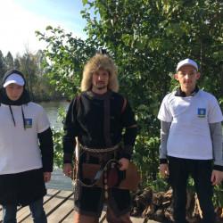 В добровольческое движение «Волонтеры культуры» вовлечены порядка 60 добровольцев – жителей с. Иглино и Иглинского района