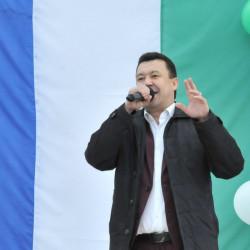 Жители Иглинского района отметили главную дату республики, 30-ую годовщину провозглашения Декларации о суверенитете Республики Башкортостан.