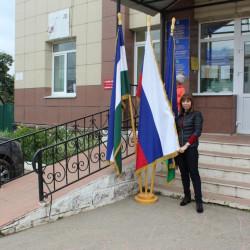 Историко-краеведческий музей Иглинского района присоединился к Республиканской музейной акции «Овеянный славой Российский флаг»