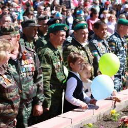 Пресс -релиз празднования 71 годовщины Великой Победы в с. Иглино