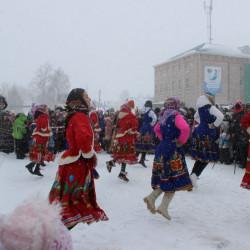 Пресс -релиз массового  народного гулянья «Проводы зимы» в муниципальном районе Иглинский район.