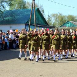 9 мая в Иглинском районе отметили День Победы.