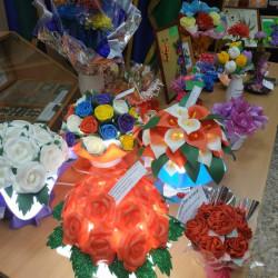 В Историко-краеведческом музее Иглинского района прошла выставка «Калейдоскоп цветов»