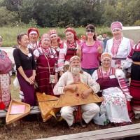 Русский народный фольклорный  ансамбль «Хусточка».