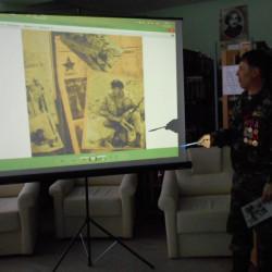 Днь воины – интернационалиста состоялась уже традиционная встреча юных читателей с ветеранами Афганской войны.