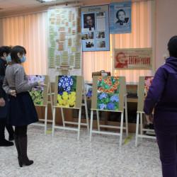 В Историко-краеведческом музее Иглинского района прошла выставка «Веяние весны»